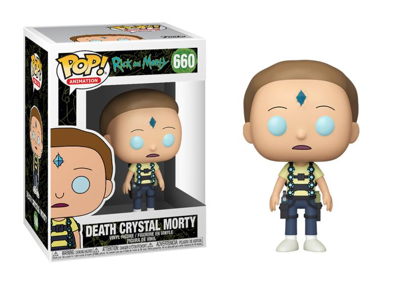Funko POP: Rick and Morty - Death Crystal Morty 10 cm