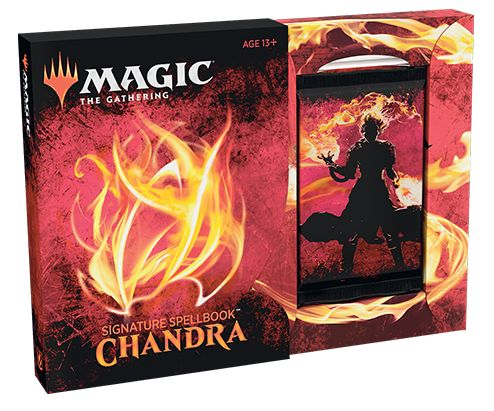 Magic The Gathering TCG: Signature Spellbook - Chandra