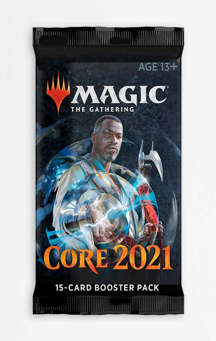 Magic The Gathering TCG: Core Set 2021 - Booster Pack