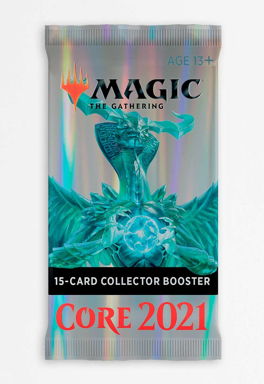 Magic The Gathering TCG: Core Set 2021 - Collector Booster Pack