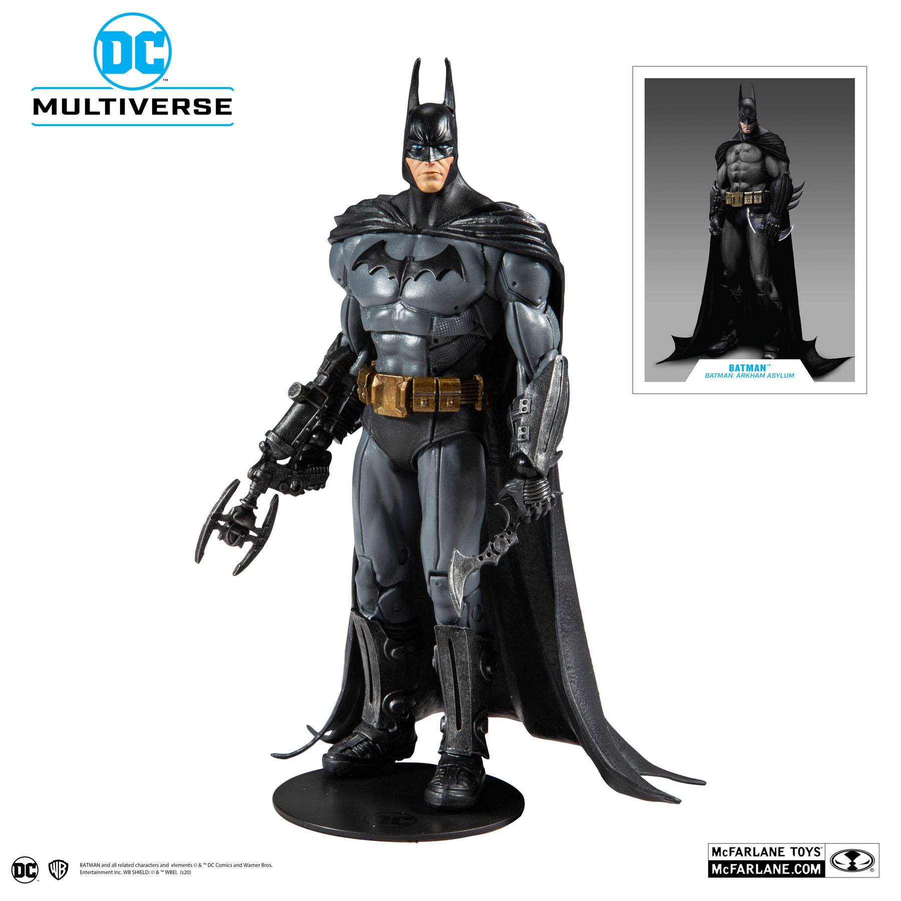Batman Arkham Asylum Action Figure Batman 18 cm