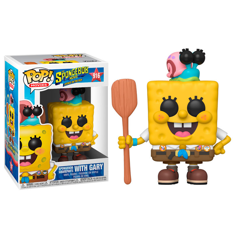 Funko POP: SpongeBob - SpongeBob with Gary 10 cm