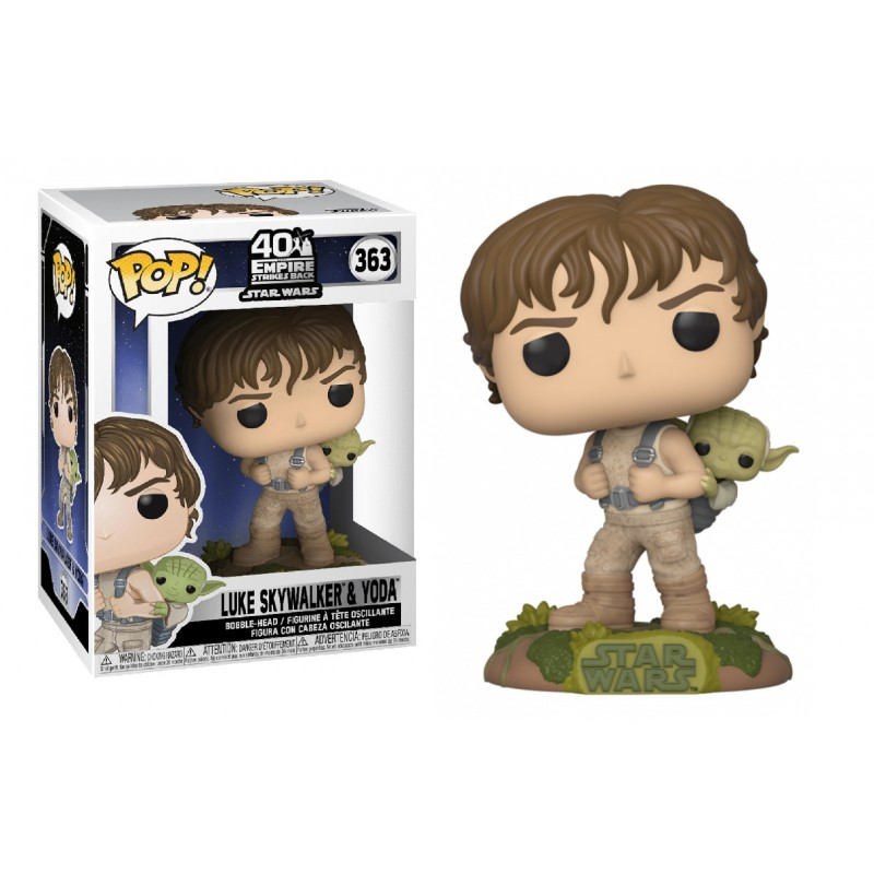 Funko POP: Star Wars  - Luke Skywalker & Yoda 10 cm