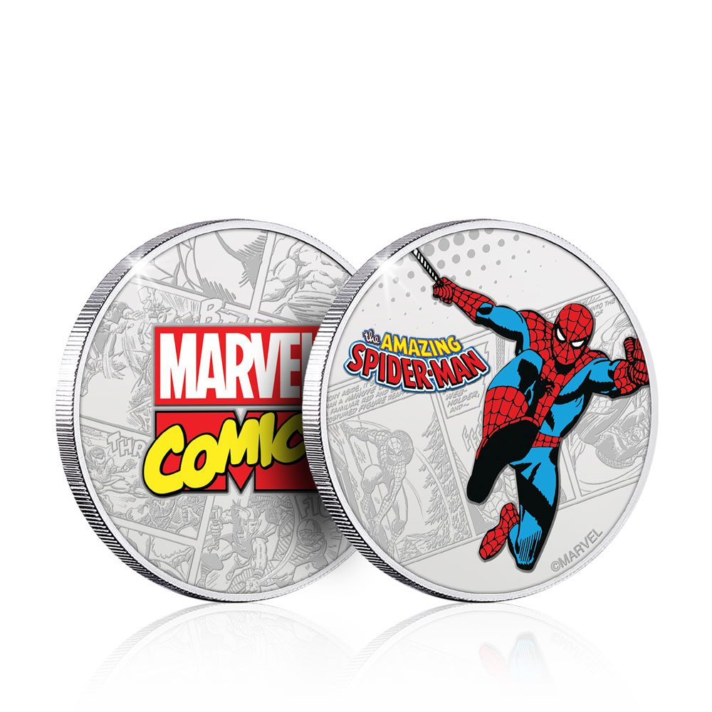 Marvel Collectable Coin Spider-Man