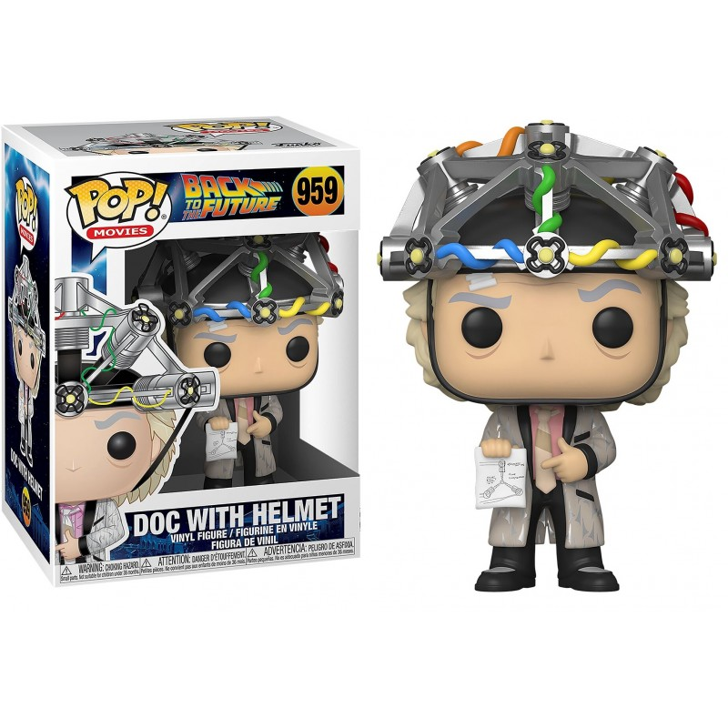 Funko POP: Back to the Future - Doc with Helmet 10 cm