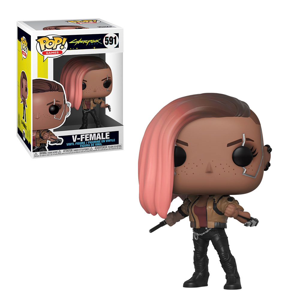 Funko POP: Cyberpunk 2077 - V-Female 10 cm
