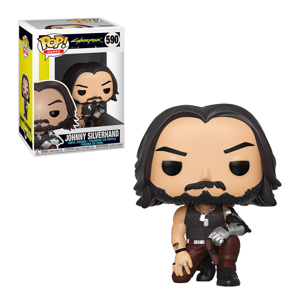 Funko POP: Cyberpunk 2077 - Johnny Silverhand 10 cm