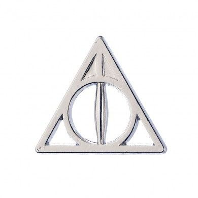 Odznak - Harry Potter Pin Badge Deathly Hallows
