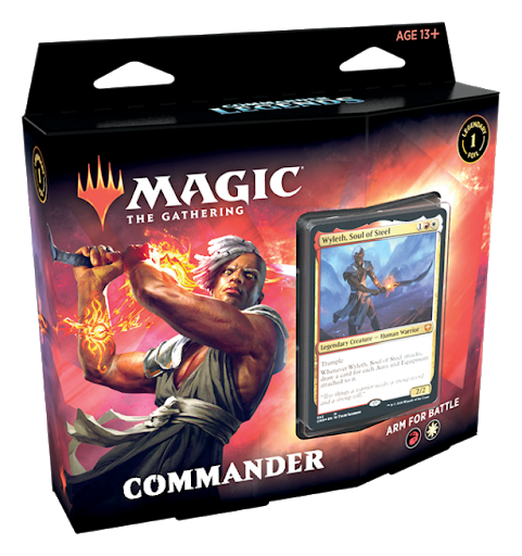 Magic the Gathering TCG: Commander Legends - Arm for Battle