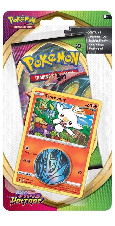 Pokémon TCG: Sword & Shield 04 Vivid Voltage CHECKLANE BLISTER