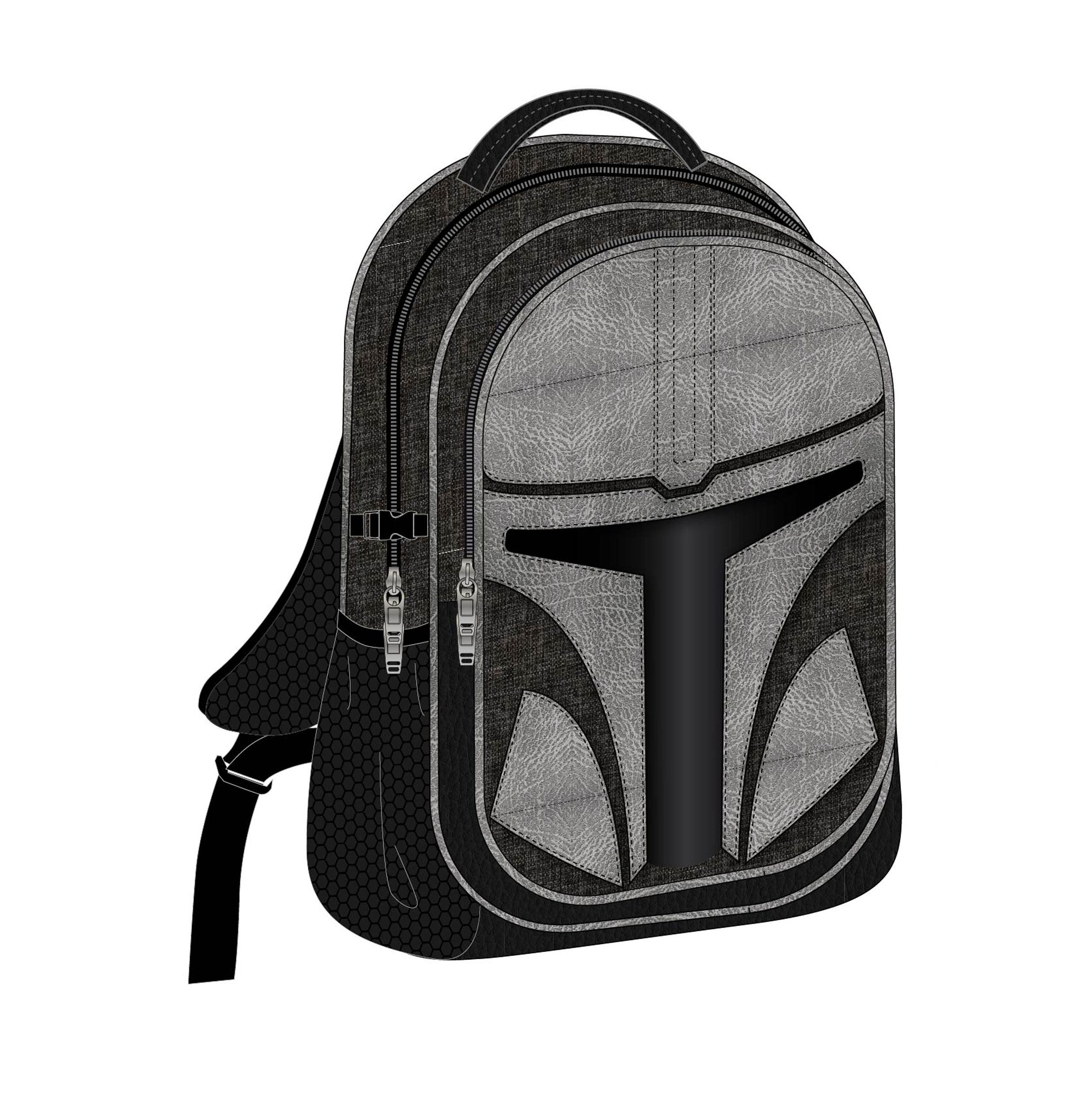 Batoh Star Wars The Mandalorian Casual Fashion Backpack The Mandalorian