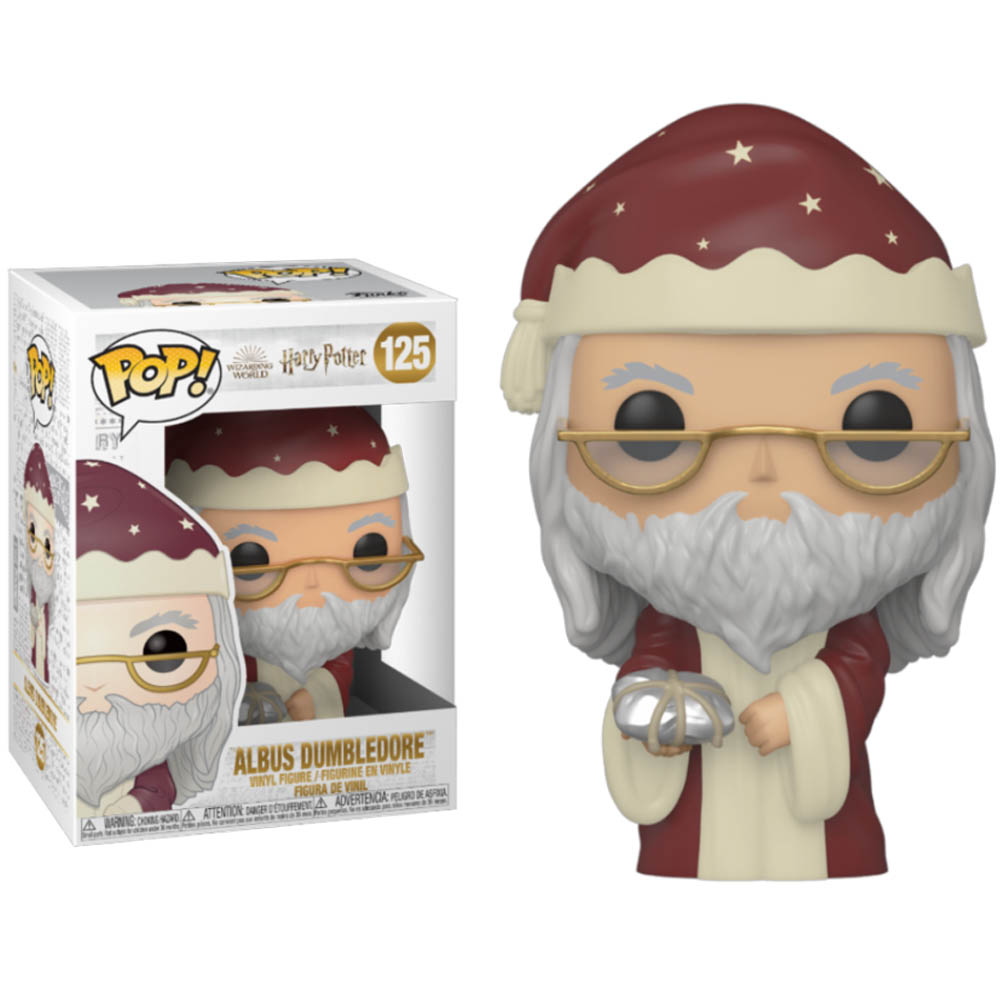 Funko POP: Harry Potter - Holiday Albus Dumbledore 10 cm