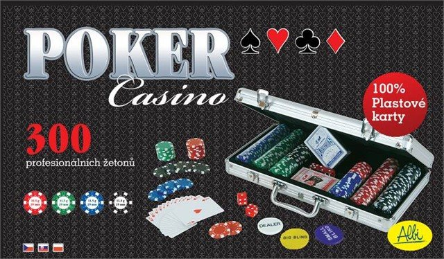 Poker – Casino set 300 žetónov