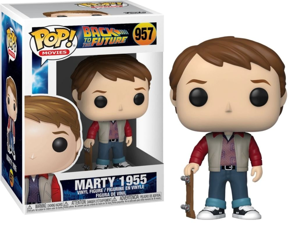 Funko POP: Back to the Future - Marty 1955 10 cm