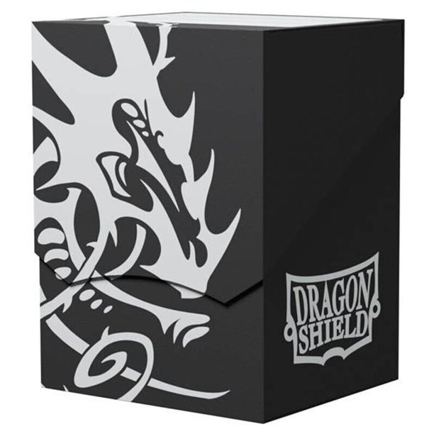 Krabička Dragon Shield - Deck Shell - Black/Black