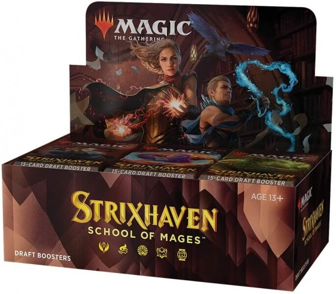 Magic The Gathering TCG: Strixhaven DRAFT BOOSTER BOX