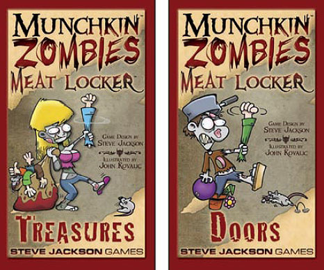 Munchkin Zombies EN - The Meat Locker - 2 boxes
