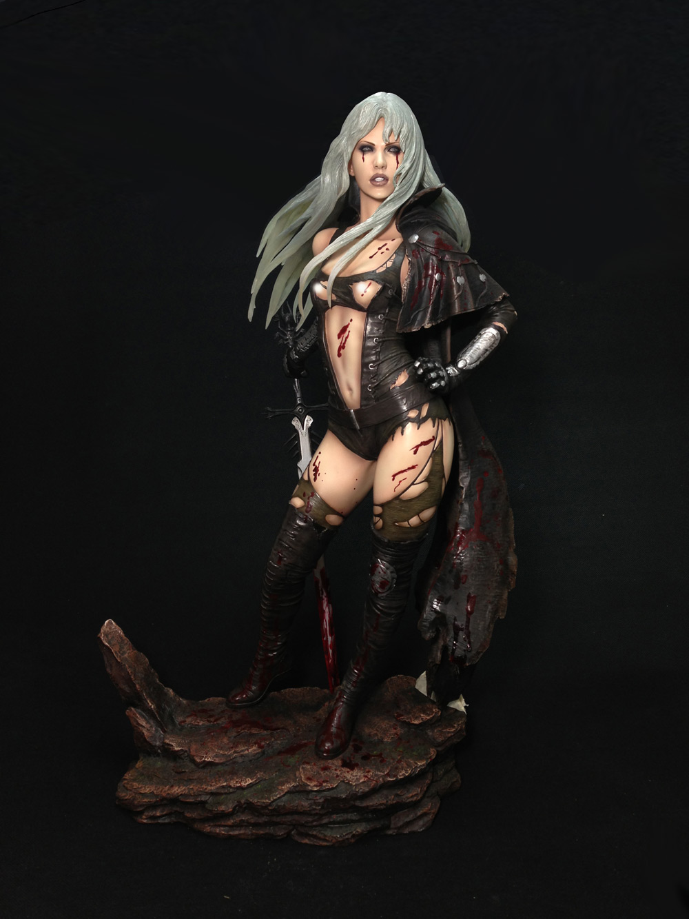 Fantasy Figure Gallery Statue 1/4 Luz Malefic Battle Damage Version 48 cm