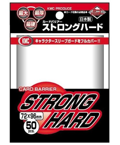 Obal KMC STRONG HARD 50ks - Clear