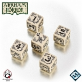 Arkham Horror - Dice Set BONE SET (sada kociek)