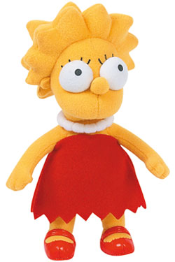 Simpsons Lisa Plush Figure 31 cm