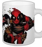 Šálka Marvel Comics Mug Deadpool Slashing