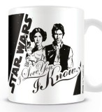 Šálka Star Wars Mug I Love You BW
