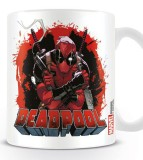 Šálka Deadpool Mug Smoking Gun