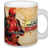 Šálka Deadpool Mug Comic Insufferable