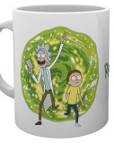Šálka Rick and Morty Mug Portal