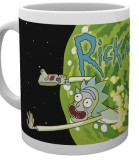 Šálka Rick and Morty Mug Logo