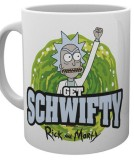 Šálka Rick and Morty Mug Get Schwifty