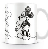 Šálka Mickey Mouse Mug Sketch Process