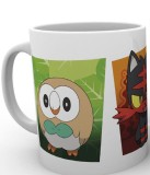 Šálka Pokémon Sun and Moon Mug Alola Partners
