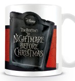 Šálka Nightmare Before Christmas Mug Jack Banner