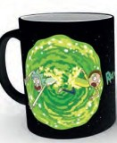 Šálka Rick and Morty Heat Change Mug Portal