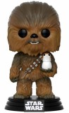 Funko POP: Star Wars Episode VIII - Chewbacca & Porg 10 cm