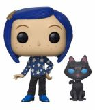 Funko POP: Coraline - Coraline with Cat 10 cm