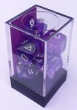 Kocka Set (7) - Signature - purple,white / borealis