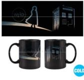 Šálka Doctor Who Heat Change Mug New Dawn