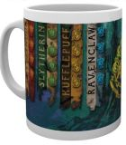 Šálka Harry Potter Mug House Flags