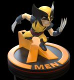 Marvel 80th Q-Fig Diorama Wolverine (X-Men) 11 cm