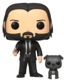 Funko POP: John Wick - John Wick in Black Suit with Dog 10 cm