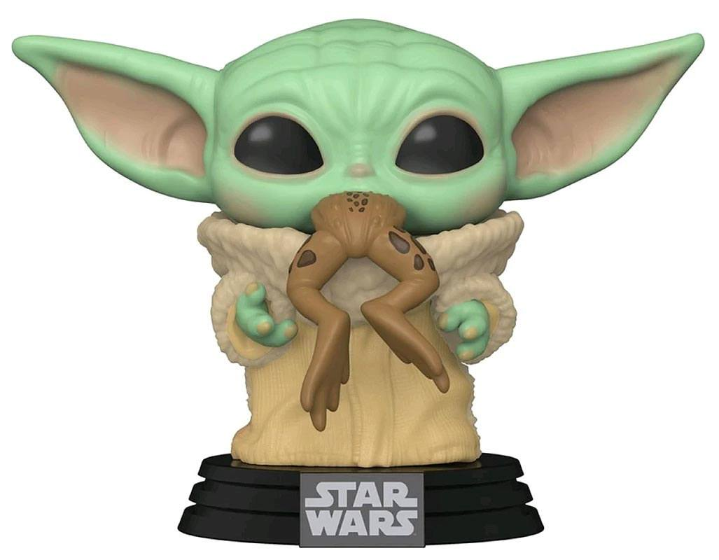 Funko POP: Star Wars The Mandalorian - The Child with Frog 10 cm