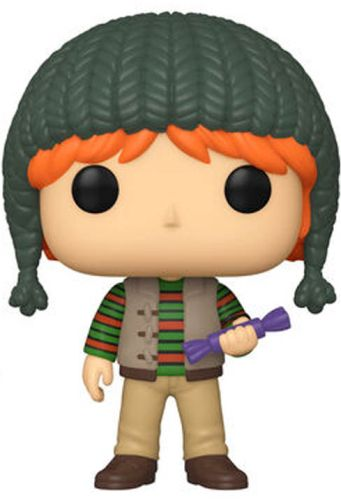 Funko POP: Harry Potter - Holiday Ron Weasley 10 cm