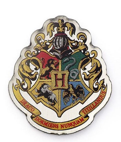 Odznak - Harry Potter Pin Badge Hogwarts Crest