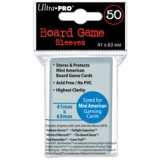 Obal Board Game Sleeves UP (50) American Mini 41x63