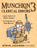 Munchkin EN – Expansion 3: Clerical Errors