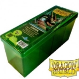 Krabička na karty Dragon Shield - 4 Compartment Box – green
