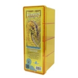Krabička na karty Dragon Shield - 4 Compartment Box – yellow